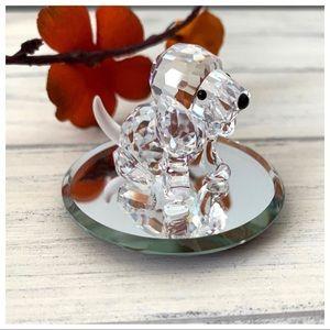 Swarovski Crystal Figurine Beagle